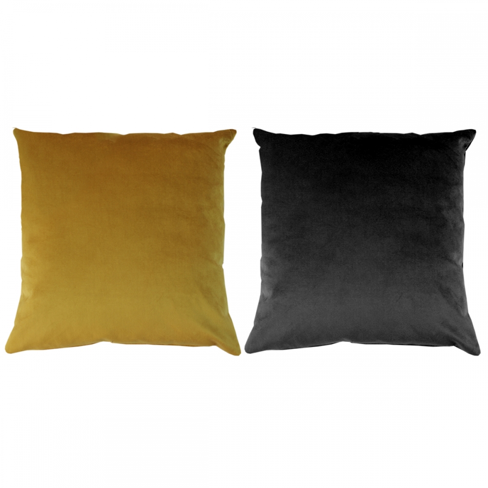 Karla Velvet Throw Pillow Covers - Set of 2