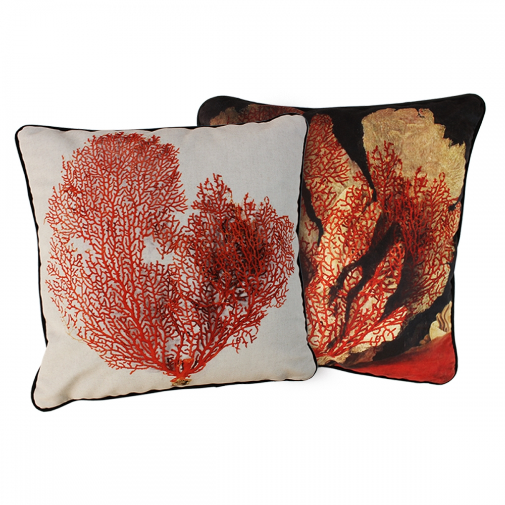 Sea Path Velvet Touch Throw Pillow Covers – Set of 2