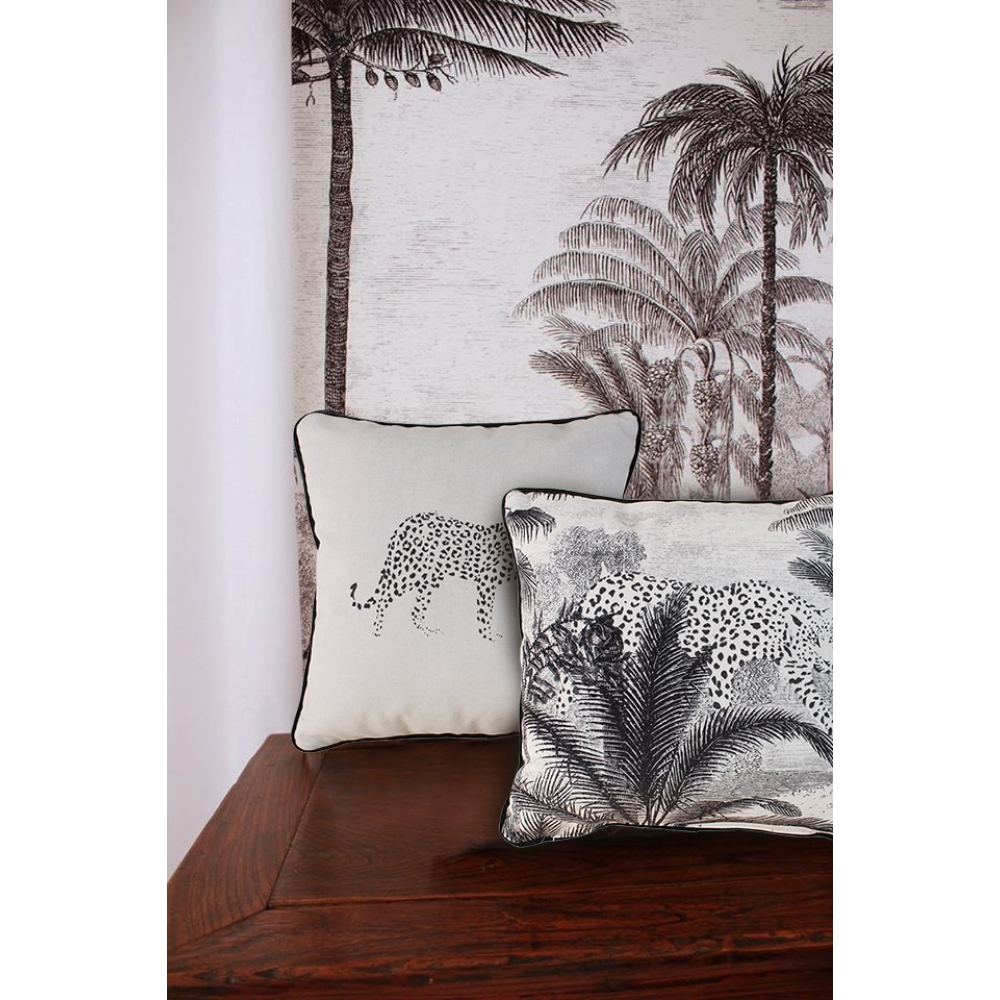 Wild Velvet Touch Throw Pillow Covers – Set of 2